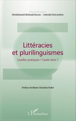 Couverture Littéracies et plurilinguismes
