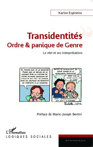 Couverture Transidentités : ordre & panique de Genre