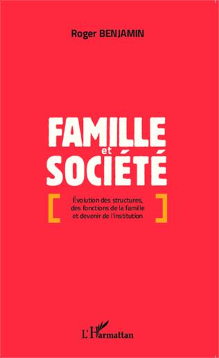 Couverture Famille et société
