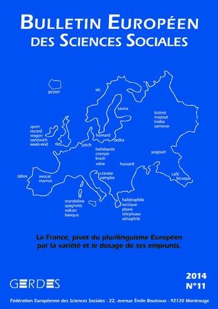 Couverture Bulletin européen des sciences sociales 11