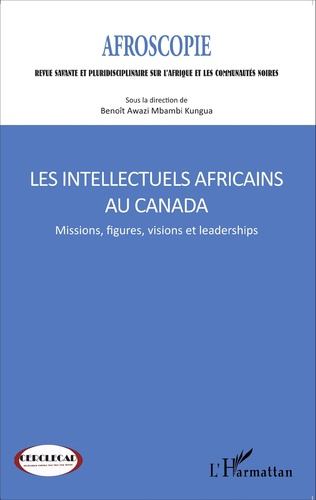 Couverture Les intellectuels africains au Canada