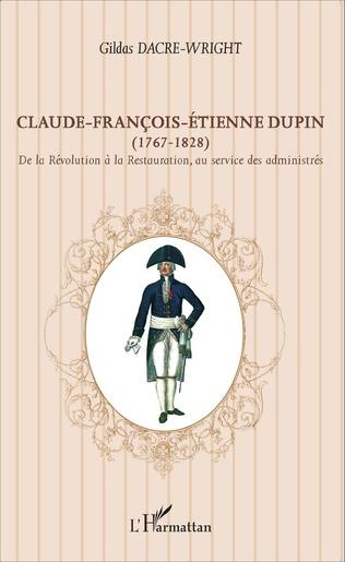 Couverture Claude-François-Étienne Dupin (1767-1828)