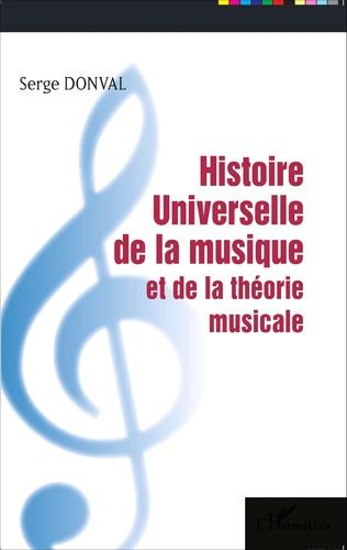 Couverture Histoire Universelle de la musique et de la théorie musicale