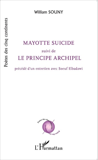 Couverture Mayotte suicide suivi de Le principe archipel