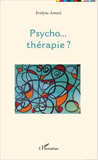 Couverture Psycho... thérapie ?