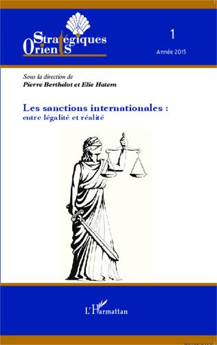 Couverture Les sanctions internationales : entre légalité et réalité