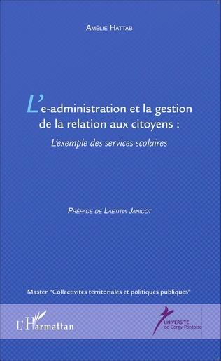 Couverture L'e-administration et la gestion de la relation aux citoyens