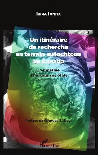 Couverture Un itinéraire de recherche en terrain autochtone au Canada