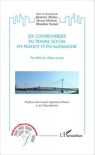 Couverture Controverses du travail social en France et en Allemagne