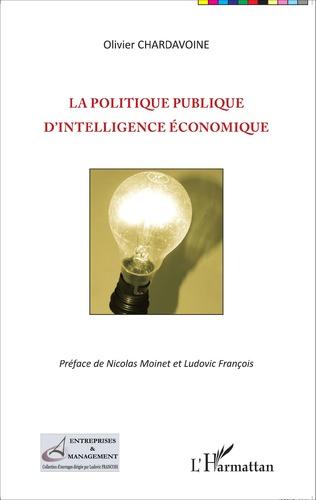 Couverture La politique publique d'intelligence économique