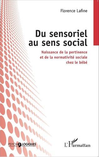 Couverture Du sensoriel au sens social