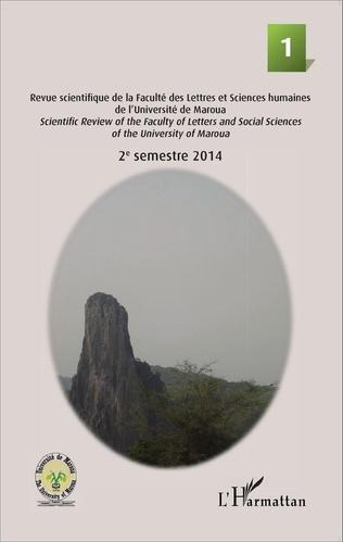 Couverture Rhumsiki 1 Revue scientifique de la Faculté des lettres et Sciences humaines de l'Université de Maroua