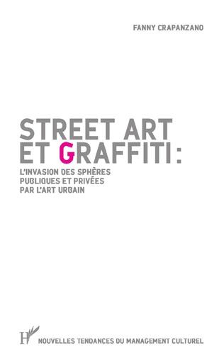 Couverture Street art et graffiti :