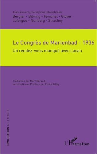 Couverture Le Congrès de Marienbad - 1936