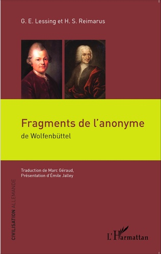 Couverture Fragments de l'anonyme