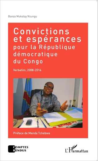 Couverture Convictions et espérances pour la République démocratique du Congo
