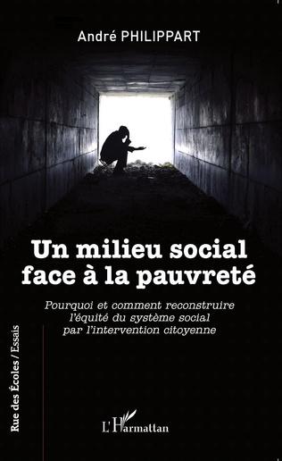 Couverture Un milieu social face à la pauvreté