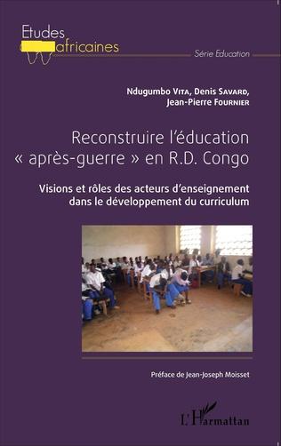 Couverture Reconstruire l'éducation