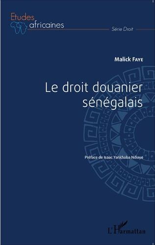 Couverture Le droit douanier sénégalais