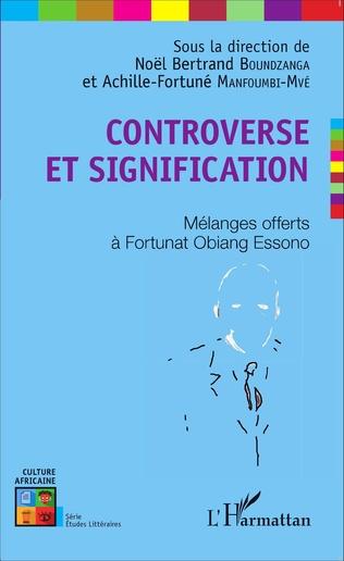 Couverture Controverse et signification