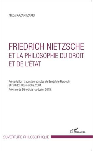 Couverture Friedrich Nietzsche et la philosophie du droit et de l'État