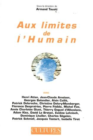 Couverture Aux limites de l'humain