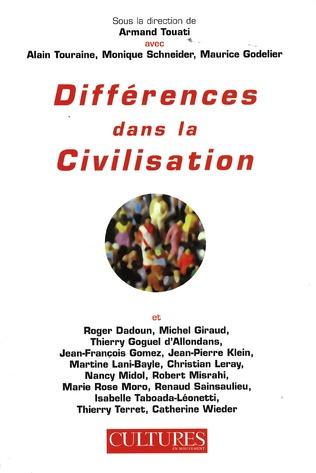 Couverture Différences dans la civilisation