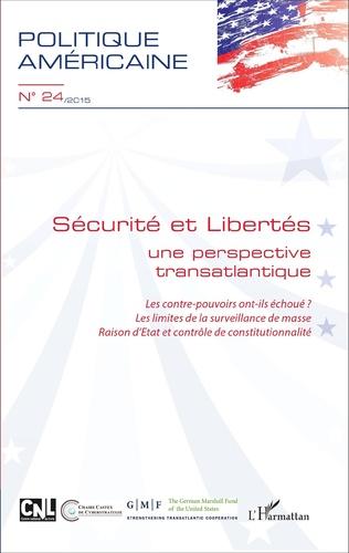 Couverture Sécurité et Libertés