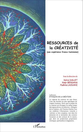 Couverture Ressources de la créativité