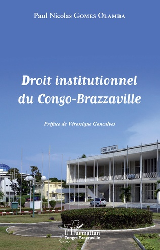 Couverture Droit institutionnel du Congo-Brazzaville