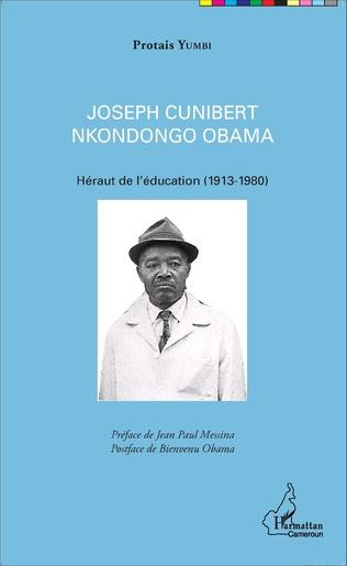 Couverture Joseph Cunibert Nkondongo Obama