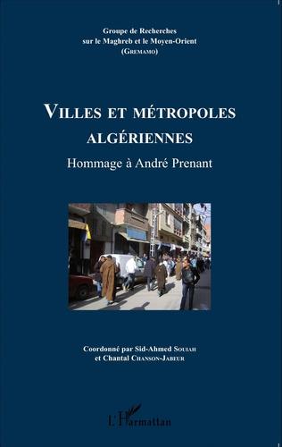 Couverture Villes et métropoles algériennes