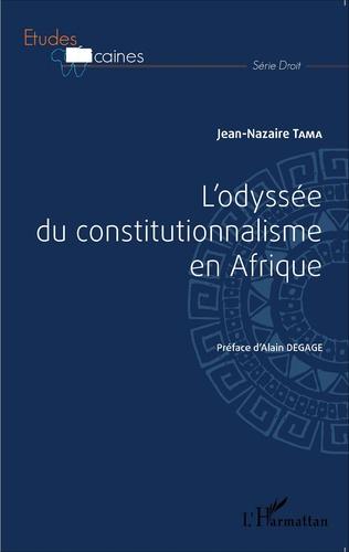 Couverture L'odyssée du constitutionnalisme en Afrique