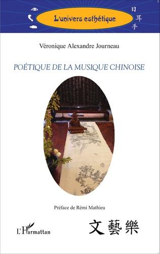 Couverture Poétique de la musique chinoise