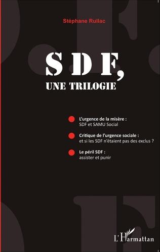 Couverture SDF, une trilogie