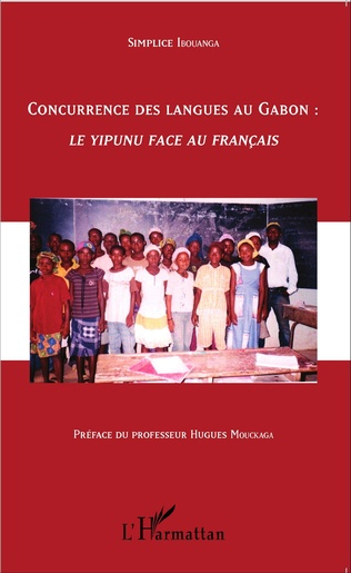 Couverture Concurrence des langues au Gabon :