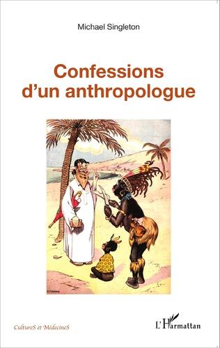 Couverture Confessions d'un anthropologue