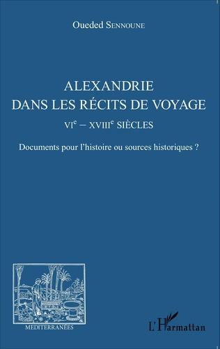 Couverture Alexandrie dans les récits de voyage