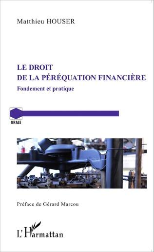 Couverture Le droit de la péréquation financière