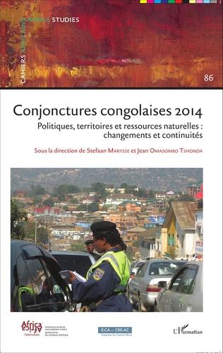 Couverture Conjonctures congolaises 2014