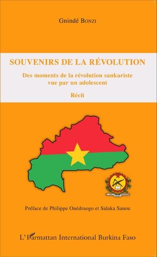 Couverture Souvenirs de la révolution