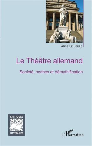 Couverture Le Théâtre allemand