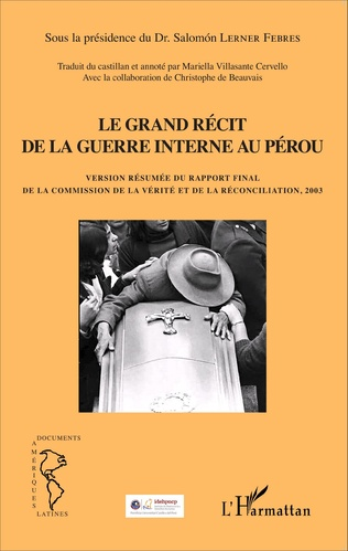 Couverture Grand récit de la guerre interne au Pérou