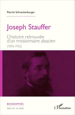 Couverture Joseph Stauffer