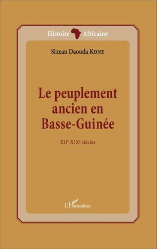 Couverture Le peuplement ancien en Basse-Guinée