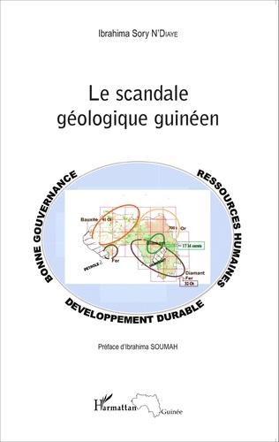 Couverture Le scandale géologique guinéen