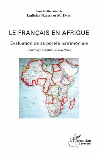Couverture Le Français en Afrique