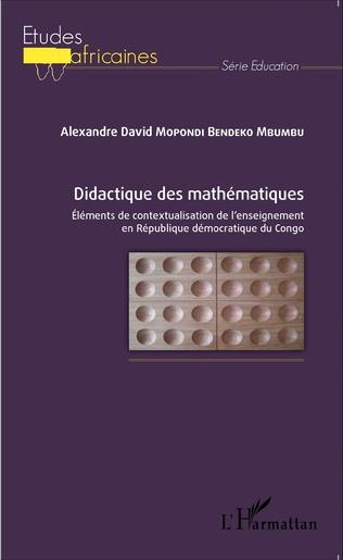 Couverture Didactique des mathématiques