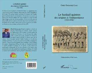 Couverture Le football guinéen
