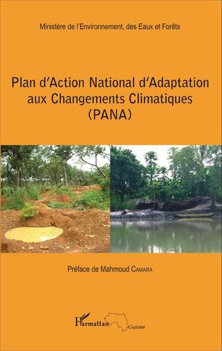 Couverture Plan d'Action National d'Adaptation aux Changements Climatiques (PANA)